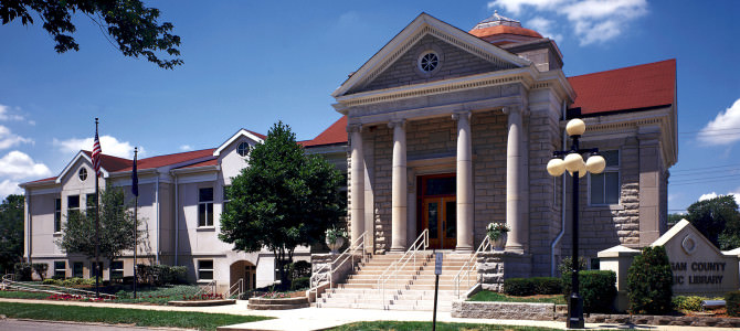 Morgan County Library, a Sensitive Historic Building Renovation