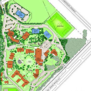 Roche Indianapolis Campus Map.Master Planning Architura Corporation