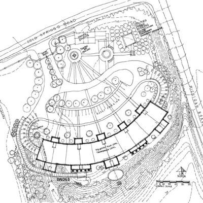084-004 - Crescent Condominiums Scheme 1 site plan-10x8 Square