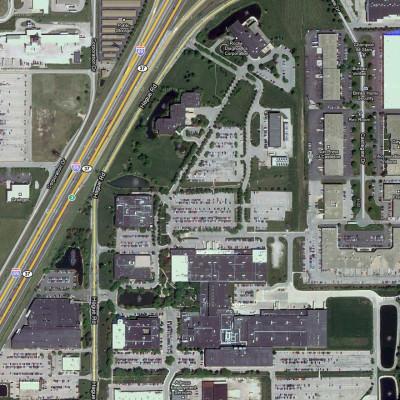393-031 - Roche Diagnostics Aerial Photo 001-4.5x5 Square