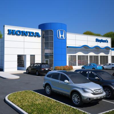 Honda Stephens Exterior Square